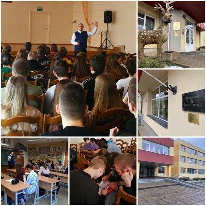Rēzeknes skolas un jauniešus iepazīstot